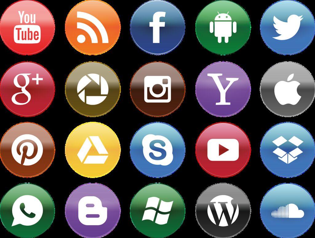 social media, you tube, facebook